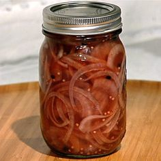 Michael Symon Pickled Red Onions - the chew - ABC.com