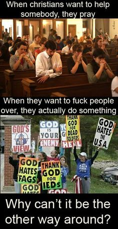 Such good Christians..not!!