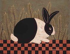 Warren Kimble - A folk artist