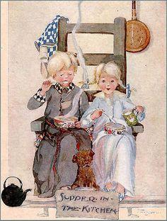 supper, art, children illustr, kitchen, anderson illustr, fav illustr, book illustr