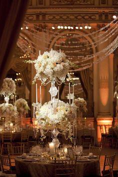 white wedding decoration