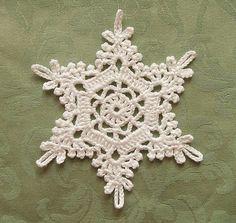 Crochet Snowflake | Flickr - Photo Sharing!