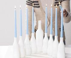 10 Cool DIY Menorah For Hanukkah | Shelterness