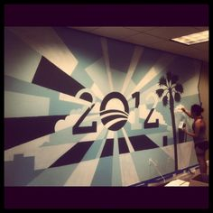 Sometimes our Coral Springs volunteers paint amazing murals.