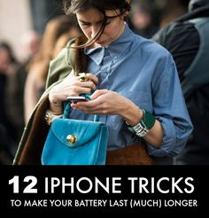 How to Make Your iPhone Battery Last!