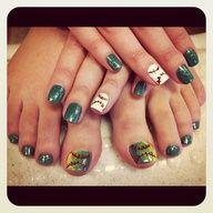 oakland a's nails, basebal nail, baseball, nail designs, sport nail, fun nail, design 2012, awesom nail, oakland athletics