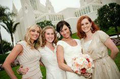 Kassidy Osborn of SHeDAISY with her bridesmaids. >> http://www.gactv.com/gac/ar_artists_a-z/article/0,3028,GAC_26071_6050919_59,00.html
