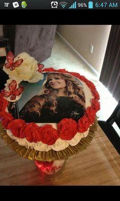 Jenni Rivera Birthday Cake