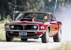 Pop's Toy 1969 Cammer Boss 429 Mustang