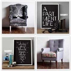Fun Furniture Finds by decor8, via Flickr