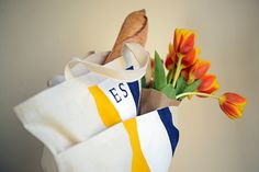 tote bag DIY- perfect holiday gift for friends