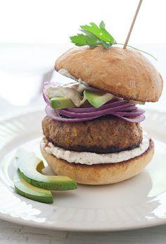 ... , Red Onion, Horseradish Sour Cream Sauce & Dijon Mustard Mayonnaise