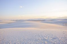 White Sands Alamogordo, New Mexico | Glasswing