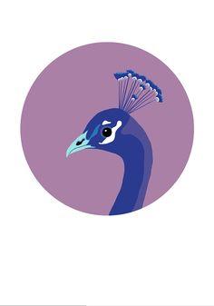 Bird Print Colorful
