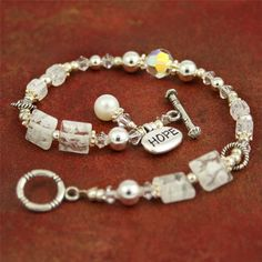 Multiple Sclerosis HOPE Bracelet - 7