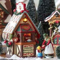 Alpine Village - Christmas Market, The Gingerbread Booth
