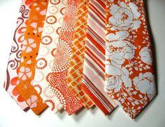 Custom neckties. wedding