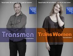Terrence Higgins Trust have produced free booklets addressing the sexual health and well-being needs of trans men and women.