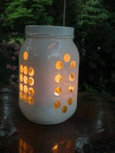 {DIY} Mason Jar Luminary!