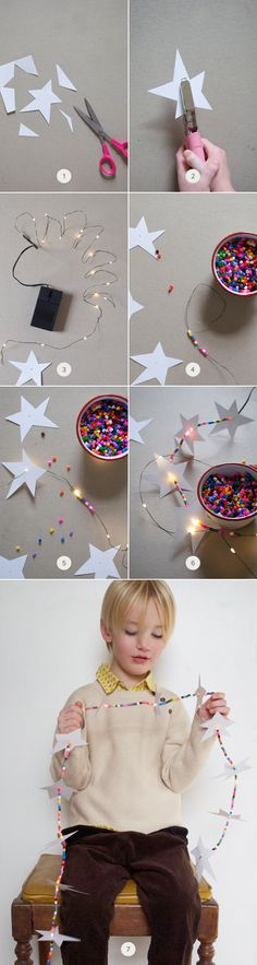 DIY: Glowing Star Ga