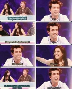 hahahahaha Grimmy talking about Harry on Celebrity juice