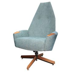 Adrian Pearsall Highback Lounge Chair