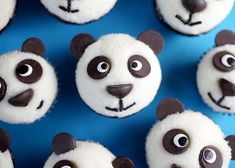 Panda Cupcakes by Bakerella.  OMGosh - how cute are these?!