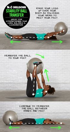 One of my fave core moves! Now in the NTC app's Core Power workout with Serena Williams.