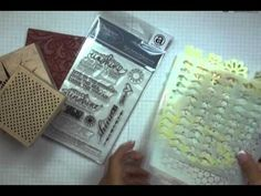 The basics of Heat Embossing - 2 part video tutorial by Andrea (covering everything you need to know ... even ideas for the seasoned embosser!) Source: http://blog.papercrafterslibrary.com/welcome-to-wow-embossing-powder-week/#