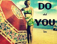 inspirational beach print