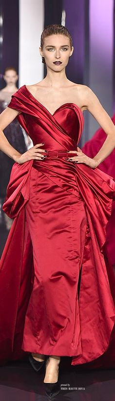 Lady in RED...Ralph & Russo Couture Fall/Winter 2014-15 jaglady