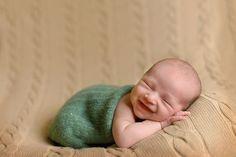 What a cute smile!