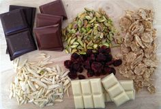 Bombones fáciles de chocolate y frutos secos