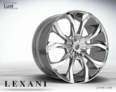 Lexani Wheels, the leader in custom luxury wheels. Wheel Detail - Lust, part of the Premium series.