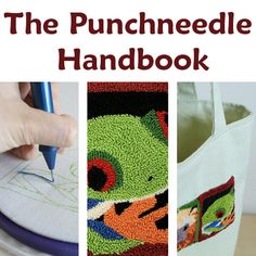 I just started my first punch needle project. Pretty fun.