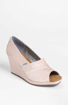 TOMS Grosgrain Wedge (Women) available at #Nordstrom