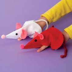 mouse puppets