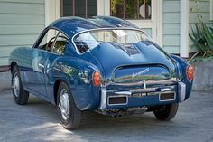 Restored 1958 Fiat Abarth 750 Zagato   (Double Bubble)