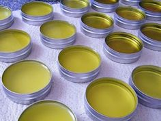 DIY Skin Nourishing Salve made from naturally growing wild violet leaves and plantains. Can be used for insect bites, minor itching and irritation, minor cuts, and also as a nipple cream.