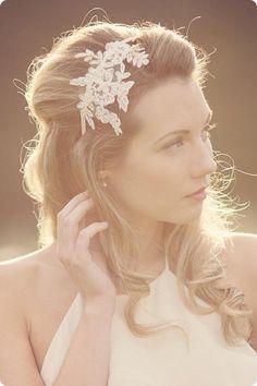 bridesmaid hair, headband, vintage wedding hair, hair pieces, lace headpiec, headpieces, wedding hairstyles, shoe, wedding hair accessories