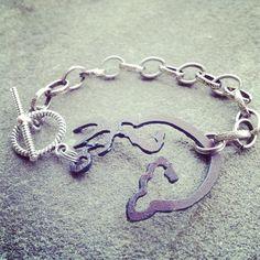 small brown, pendant bracelet, bracelets, browning buck and doe heart, brown bracelet, browning bracelet, brown buck, browning clothing, jewelri