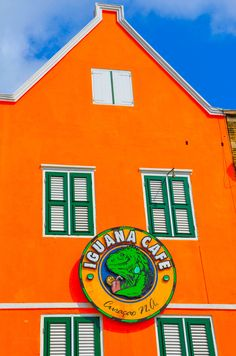Iguana Cafe - Willemstad, Curacao