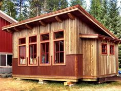 tiny house, tiny house - unique tiny cabin for sale. Under construction