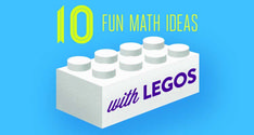 Great ideas for teaching math with LEGOs