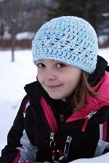 Free crochet hat pattern-