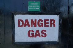 danger gas
