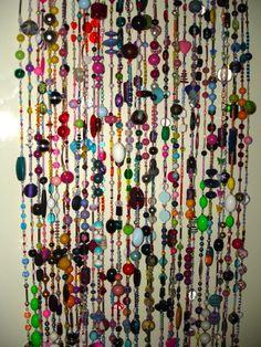 Beaded Curtains on Pinterest