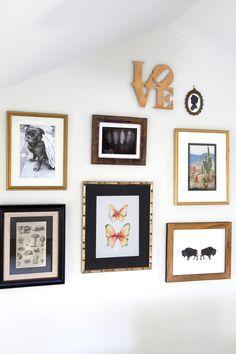 Design Manifest Lounge Gallery Art Wall