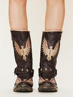 Old Gringo engineer boots!!!