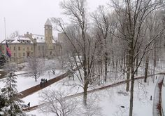 March 25, 2013. Spring snow stinks, but at least it makes for a pretty picture. Photo by Mark Land.